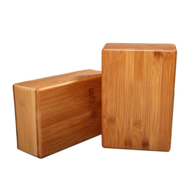 Natural Wood Yoga Block