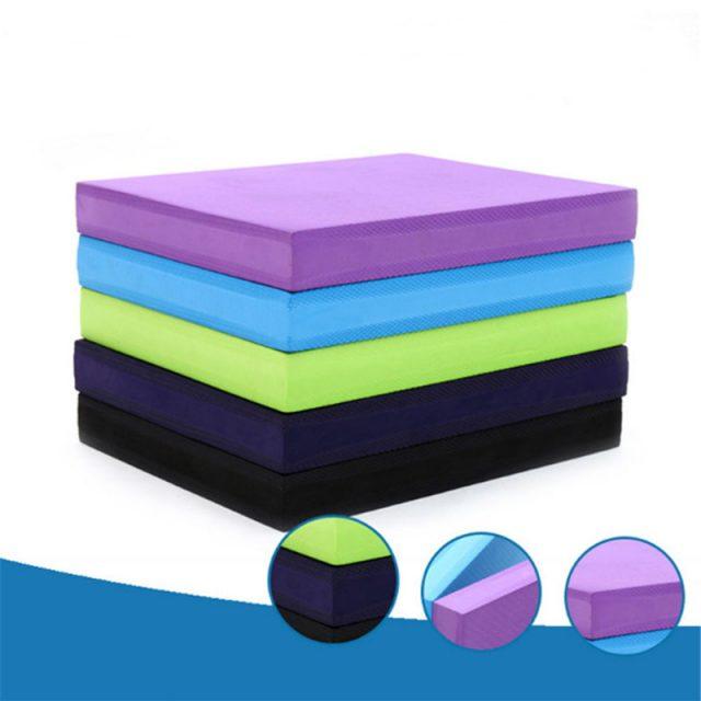 Square Yoga Mat Block