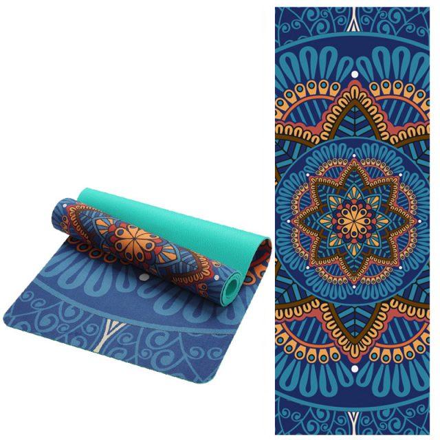 Mandala Printed Yoga Mat