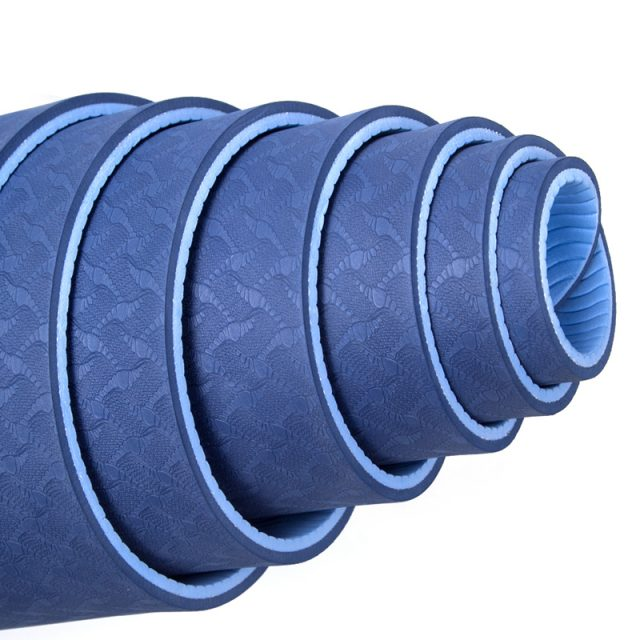 6 mm Yoga Mat with Strap & Bag