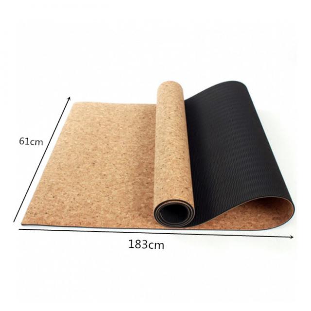 Thin Cork Yoga Mat