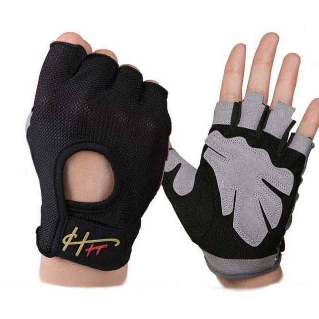 Anti-Slip Breathable Mesh Weight Lifting Gloves