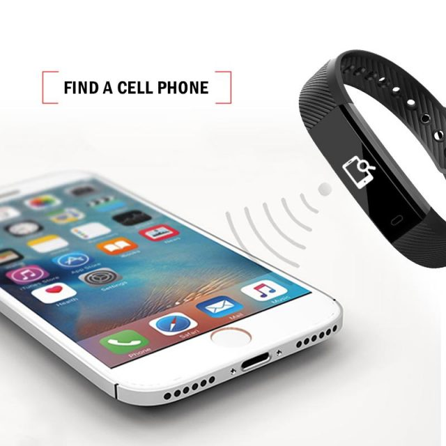 Waterproof Smart Wrist Fitness Trackers