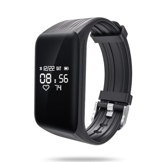 Waterproof Fitness Tracker with Continuous Heart Rate Monitor