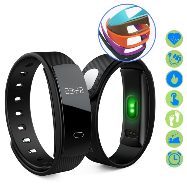 Smart Bluetooth Touch Screen Fitness Trackers