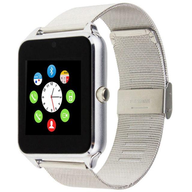 Metallic  Smart Watch