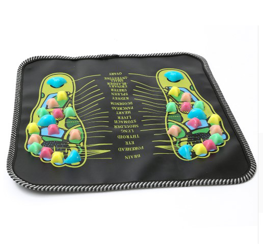 Acupuncture Cobblestone Foot Massager Mat