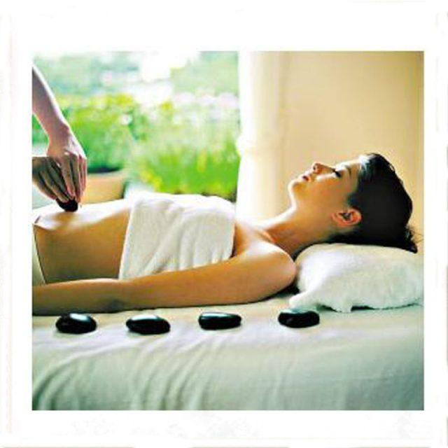 Warm Stone Therapy Massage Rocks 12 pcs Set