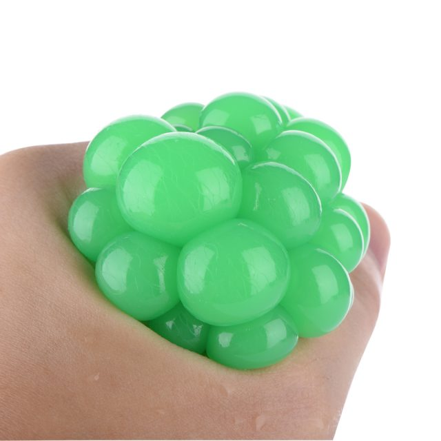 Funny Grape Ball Stress Relief Gags Toys