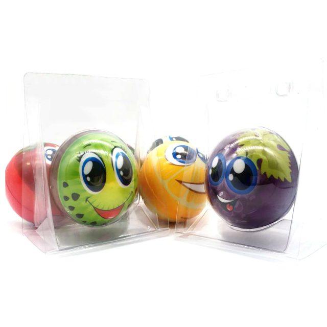 Colorful Lightweight Face Print Anti-Stress Balls