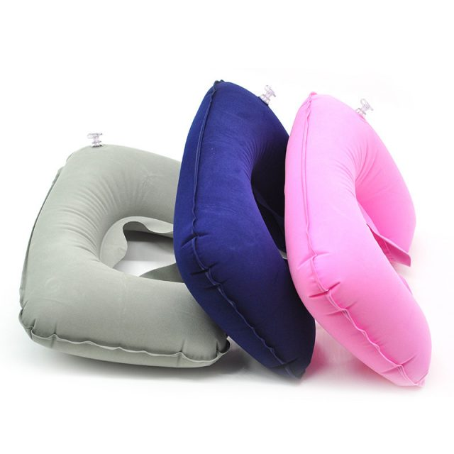 Travel Inflatable U-Shaped Neck Pillow