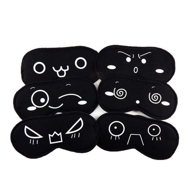 Emoji Printed Eye Sleeping Mask