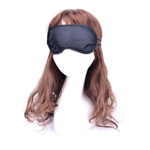 Sleeping Black Night Masks Set