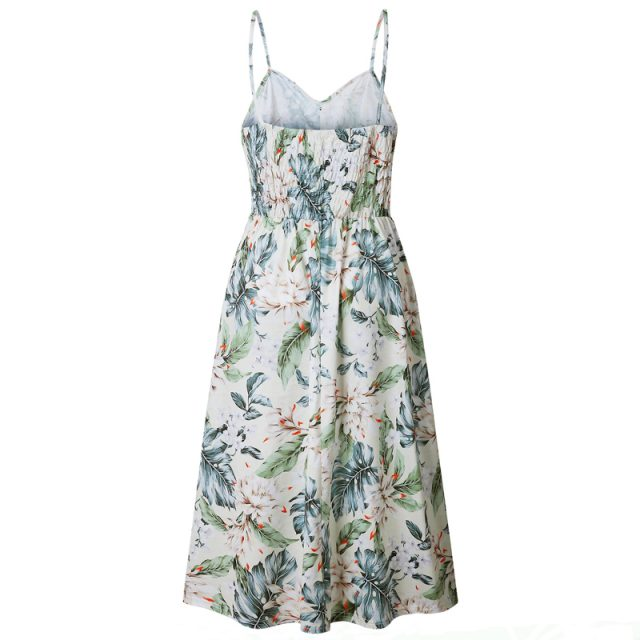 Women's Cami Floral Printed Dress