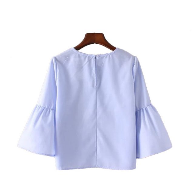 Women's Casual Summer Flare Blouse