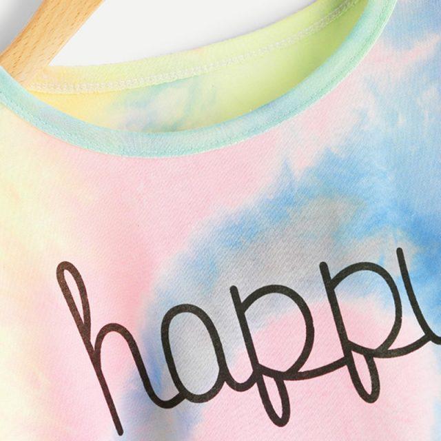 Women's Happy Printed T-Shirt