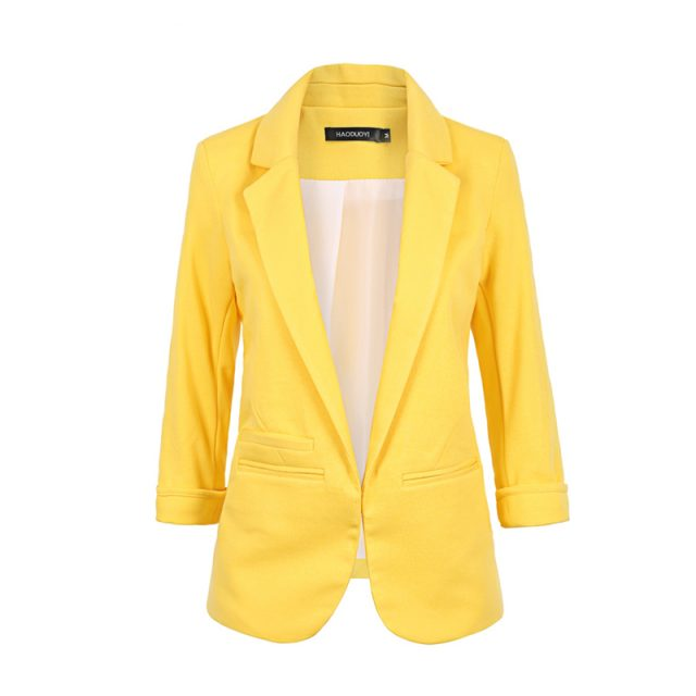 Women's Half Sleeved Blazer