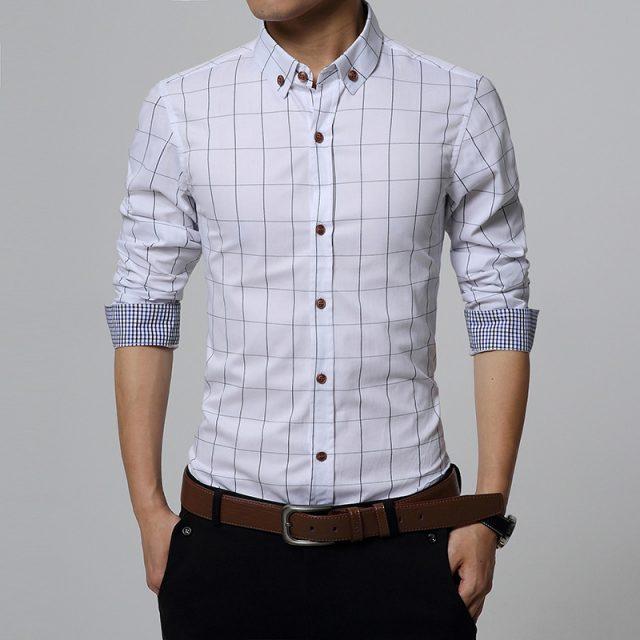 Men's Cotton Slim Shirt