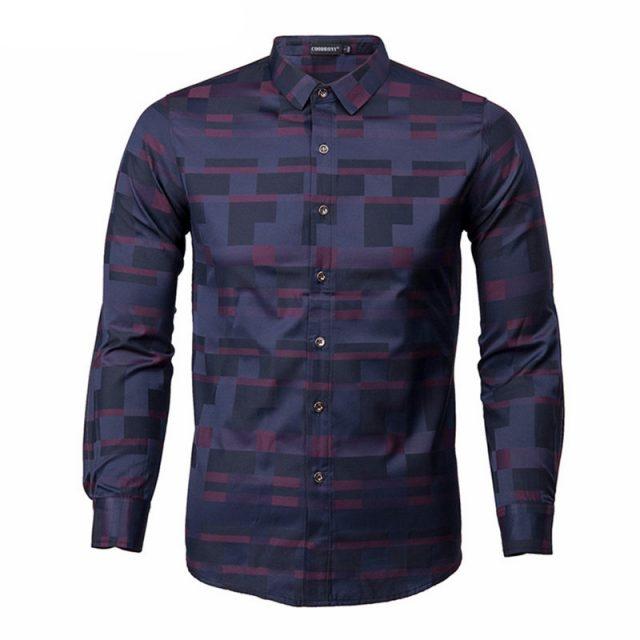 Men's Business Casual Shirt