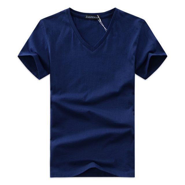 Men's Casual V-Neck T-Shirt