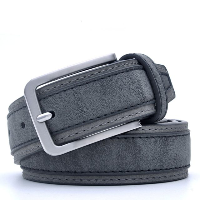 Men's Casual PU Leather Belt