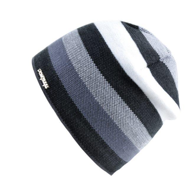 Men's Striped Winter Hat