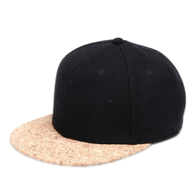 Creative Design Men's Cap with Cork Peak
