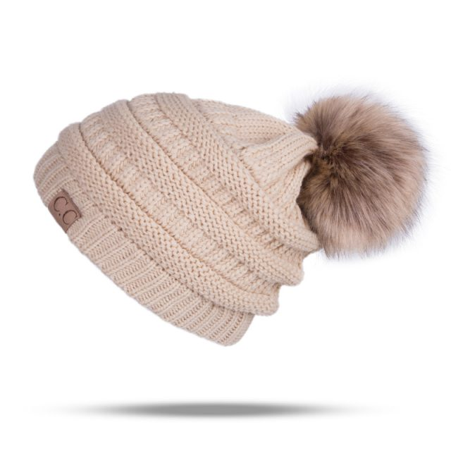 Knitted Winter Hat for Women