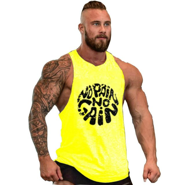 fitness! Cotton  Tank Top Men vest Bodybuilding and Fitness Clothing Muscle Tops Sleeveless Shirt Brand World of Tanks